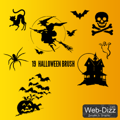 Halloween Brush 19